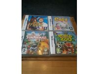 ds games catz/world of zoo/sim animals/pippa funnell