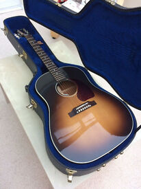 2013 Gibson J45 Standard Acoustic Guitar - Vintage Sunburst