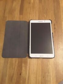 Samsung tablet 4 with case £60