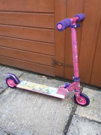 Disney Princess Folding Scooter
