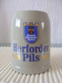 A BRAUEREI Felsenkeller Herford Bier Stein