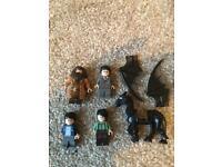 Harry potters Lego figures
