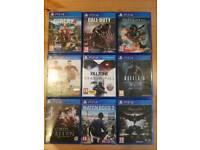 PS4 9 games bundle