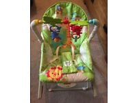 Fisher price rainforest infant to toddler chair