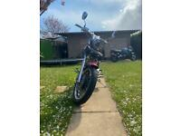 Ajs 350cc motorbike