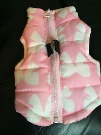 Xs small dog/puppy body warmer harness