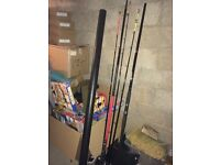 3 rods for sale