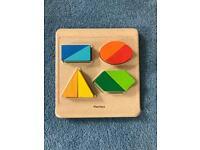 PLANTOYS wooden puzzle