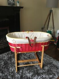 Little Bird Moses basket and stand