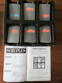 Scruples Board Game - Excellent Condition, complete and with instructions