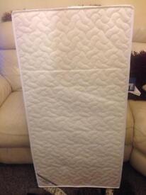 Mamas and Papas sleep safe deluxe foam mattress.