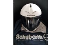 Schuberth C3 Pro in white Size Large