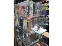 Clear Acrylic Display Cabinet/Stand for Watches/Gifts/E-Cig,