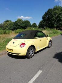 VW cabriolet beetle