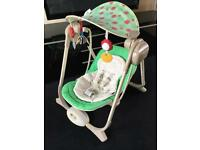 Chico Polly Baby swing Chair ❤️👶🏻💚