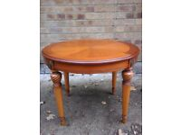 Oval small coffee table