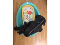 Fisher Price Baby Buthtub and BabyBjorn Baby carrier