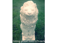 *SALE NOW ON* Posing Lion £10