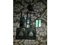 Samsung walkie talkies need batteries swap