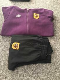 Boys Hull City Hoodie XLB,,Track Suit Bottoms LB