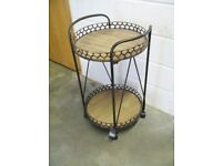 Vintage Style Cocktail / Drinks trolley..new unwanted purchase...Dimensions: 53 x 48 x 86 cm