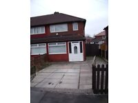 2 Bed Semi-Detached House To Let (Unfurnished) - for 12 Months only LEVENSHULME