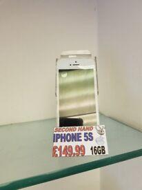 Apple iPhone 5s - 16GB - Unlocked - White