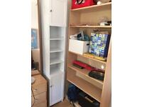 Tall Ikea cabinet ( the white one in the photo)