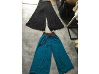 2 wide pants ladies size 8-10 used in a good condition £5