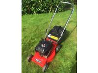 "Rover Self Propelled mower 18"" cut serviced Briggs & Stratton engine lawnmower goes the best"