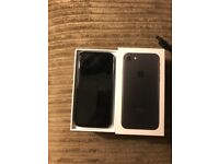 I Phone 7 Black 32GB Vodafone Like New