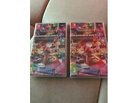 Mariokart 8 Deluxe for Nintendo Switch - Brand new unopened, ordered two like a dope no profit asked