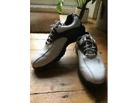 Footjoy Greenjoys Golf Shoes Brown White Uk Size 7.5 45404k