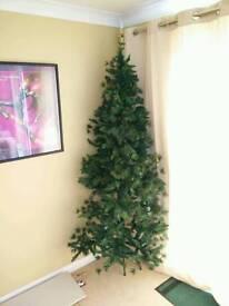 7ft Corner Christmas Tree