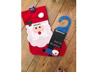 Personalised countdown to Christmas & stocking - child's