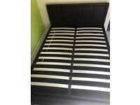 King Size Storage Bed - 2 months old