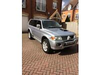 Mitsubishi Shogun Sport Warrior TD Diesel, 12 months MOT and low mileage.