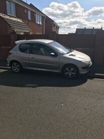 Peugeot 206 for sale, clutch needs replacing. £200 ONO