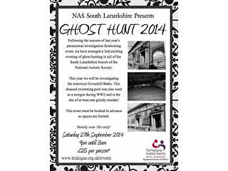 National autistic society ghost hunt