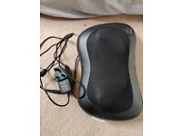 Neck and Back Massager Shiatsu Massage Pillow with Heat Deep Tissue Kneading Massager