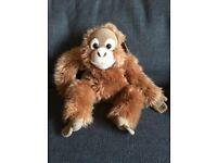 WWF cuddly orangutan plush toy