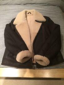 Woman's genuine sheepskin jacket S/M