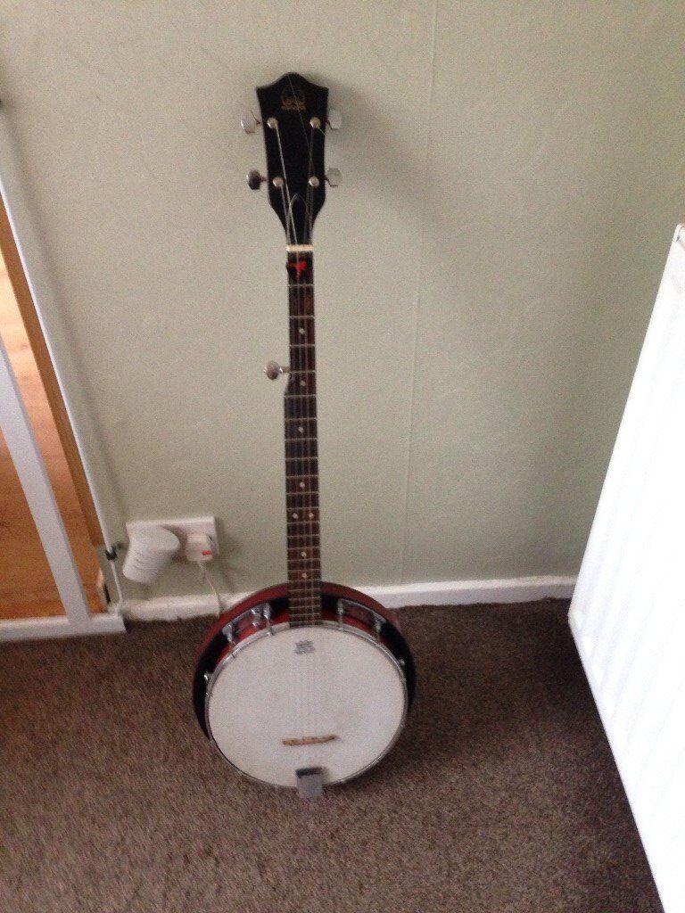 Hondo 5 string banjo