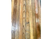 Reclaimed Solid Oak Strip Flooring - 65 m2 in stock!