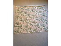 Vintage French fabric Roman blind - BATTERSEA COLLECTION