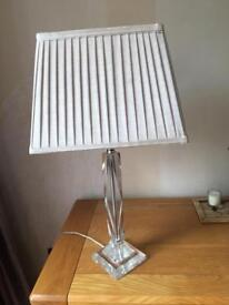 Beige table lamp