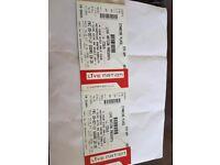 J Cole Tickets x 2