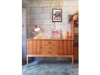 Vintage Walnut Gordon Russell Sideboard Mid Century