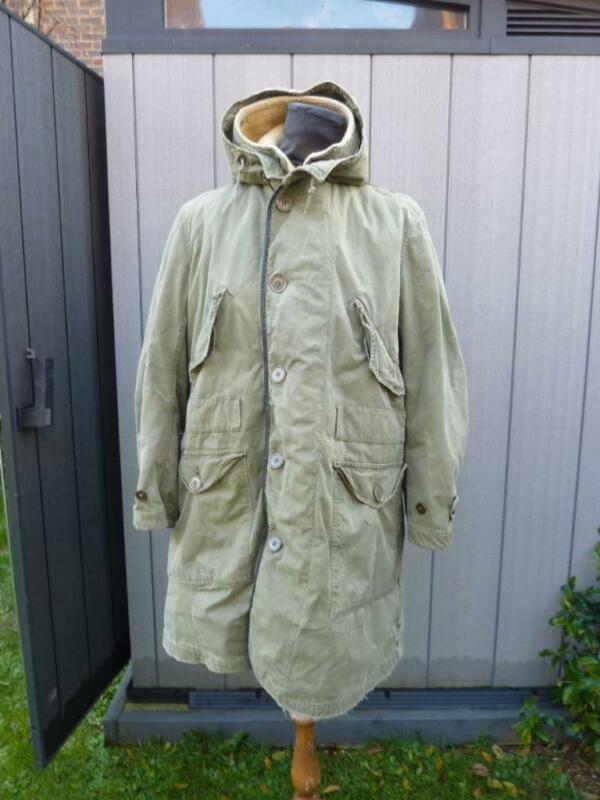 US Army M47 M1947 Parka with Liner & Hood MOD