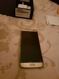 Samsung Galaxy s7 edge brand new. Dual sim